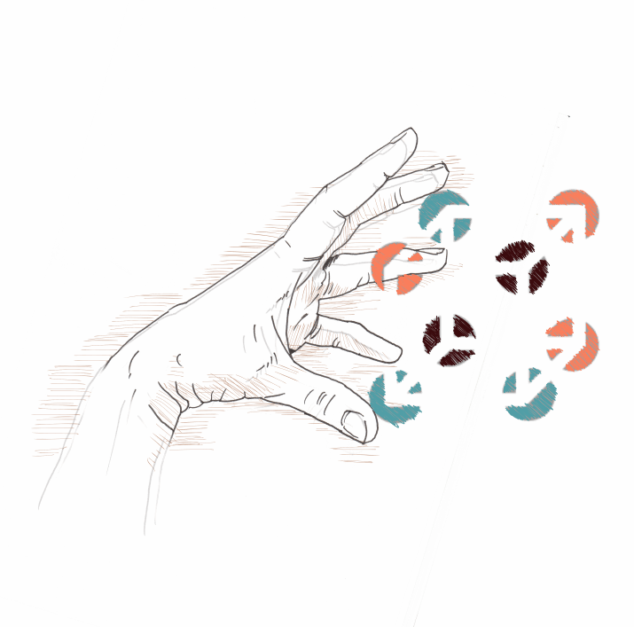 illustration main soin holistique